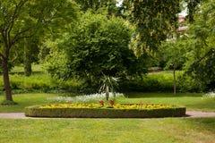 De Dornburg-tuinen stock afbeeldingen