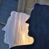 De dos caras Imágenes de archivo libres de regalías