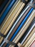 De dossiers van het archief Royalty-vrije Stock Afbeeldingen