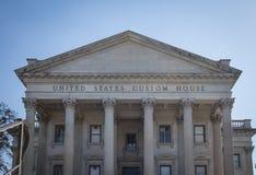 De Douanehuis Charleston van Verenigde Staten stock foto's