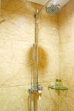 De douche van de badkamers Stock Fotografie