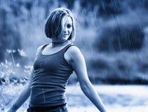 De douche van de regen Royalty-vrije Stock Afbeeldingen