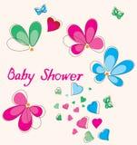 De douchekaart van de baby Royalty-vrije Stock Fotografie