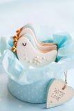 De douchekoekjes van de baby Royalty-vrije Stock Afbeelding