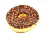 De doughnut van de chocolade Stock Fotografie