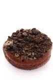 De doughnut van de chocolade Stock Foto