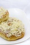 De Doughnut van de kaas Stock Afbeeldingen