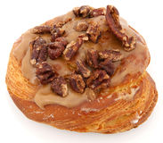De Doughnut van de Pecannoot van de esdoorn Royalty-vrije Stock Afbeelding