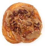 De Doughnut van de Pecannoot van de esdoorn Stock Fotografie