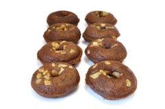 De Doughnut van de snack Stock Afbeeldingen