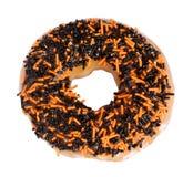 De Doughnut van Halloween Royalty-vrije Stock Afbeeldingen