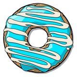 De doughnut van het beeldverhaal Royalty-vrije Stock Fotografie
