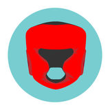 De in dozen doende helm van de voorraadillustratie royalty-vrije illustratie