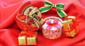 De dozen van de gift Stock Fotografie