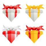 De dozen van de gift Royalty-vrije Stock Afbeelding