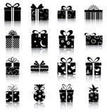De dozen van de gift Stock Afbeeldingen