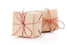 De dozen van de Kerstmisgift Royalty-vrije Stock Fotografie