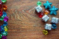 De dozen van de Kerstmisgift Stock Foto's