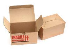 De dozen van het karton Royalty-vrije Stock Foto