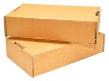 De dozen van het karton Stock Foto's