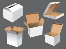 De Dozen van het karton stock illustratie