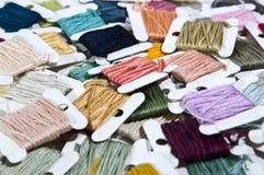 De draad van de kleur Stock Afbeelding