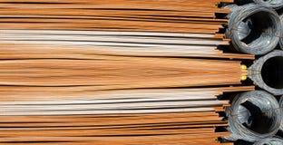 De draad van het staal royalty-vrije stock foto