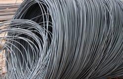 De draad van het staal royalty-vrije stock afbeeldingen