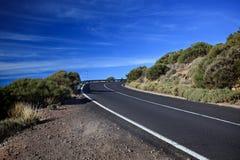 De draai van de weg royalty-vrije stock foto