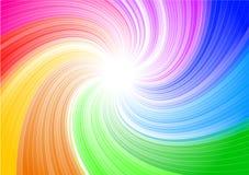 De draaiachtergrond van de kleur Royalty-vrije Stock Afbeelding