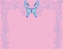 De draaien van de vlinder Stock Fotografie
