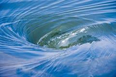 De Draaikolk van het water Royalty-vrije Stock Afbeeldingen