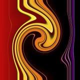 De draaipatroon van de lijn vector illustratie