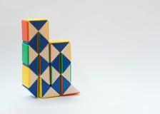 De draaistuk speelgoed van grafiekenbars Stock Fotografie