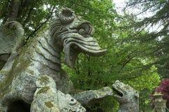 De draak Stock Afbeeldingen