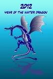 De draak 2012 van het water Royalty-vrije Stock Afbeeldingen