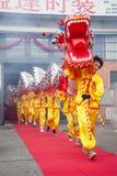 De draak komt uit Royalty-vrije Stock Foto's