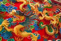 De draak van China Stock Foto's