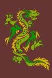 De draak van de herfst royalty-vrije illustratie