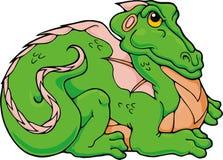 De Draak van Froggy Stock Foto