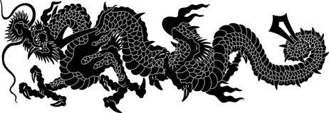 De draak van Japan Royalty-vrije Illustratie