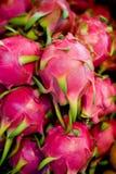 De draakfruit van Pitaya Stock Fotografie