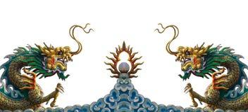 De draakstandbeeld van China Royalty-vrije Stock Afbeelding