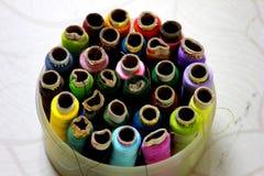 De draden van de kleur Royalty-vrije Stock Afbeelding