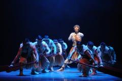 De Dragon Boat Race-The o ato em segundo de eventos do drama-Shawan da dança do passado Fotografia de Stock