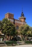 De Draken van Castel dels Tres in Parc DE La Ciutadella Barcelona, Catalonië, Spanje Stock Foto's