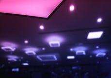 De dramatische veelvoudige achtergrond van de lampen bokeh verlichting royalty-vrije stock foto