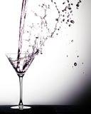 De drank giet Royalty-vrije Stock Fotografie