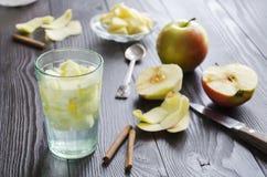 De Drank van Apple Stock Foto