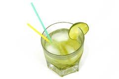 De Drank van Caipirinha stock afbeelding